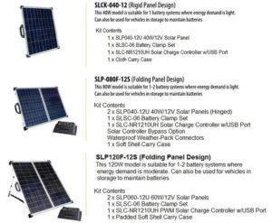 solar rv panel kits