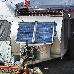 rv solar trailer kits